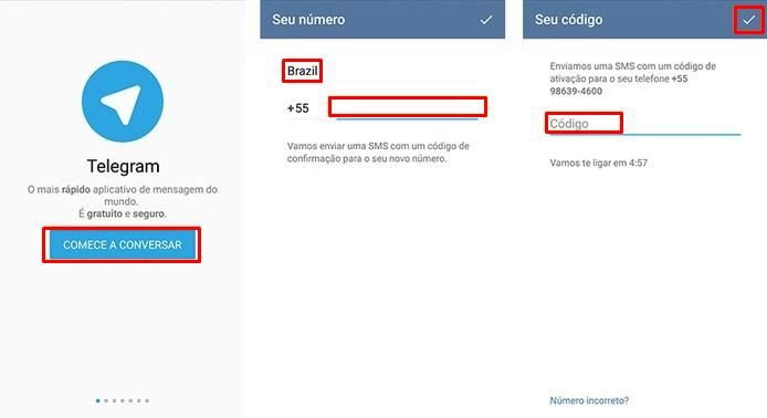 Como instalar app Telegram
