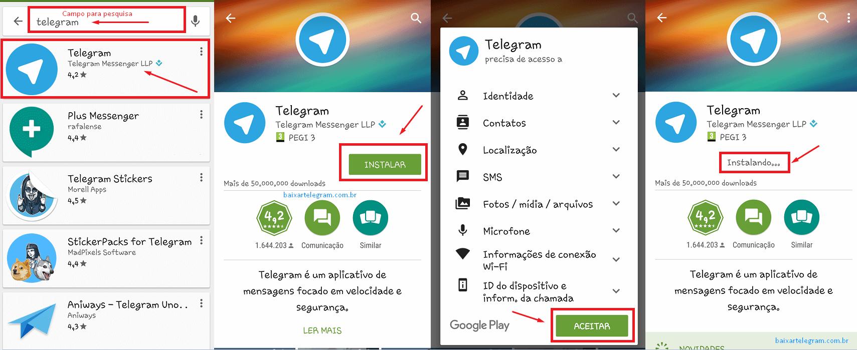 baixar-telegram-android